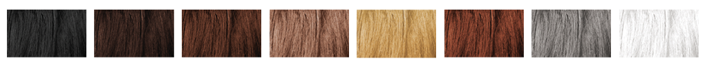 Maquiagem para cabelos Cores Jet Hair