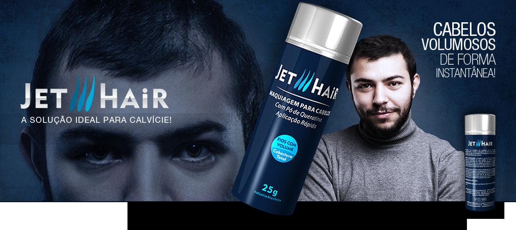 Maquiagem para cabelos Jet Hair